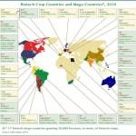 Biotech Crop Countries+Mega-Countries 2010