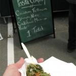 Nanaimo Wild Food Fest-Cowichan Pasta Nettle fettucine