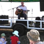 Nathan Rogers at Comox Valley Farmers Market, 2011