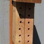 Block style mason bee house 1