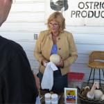 Millarville Farmers Market Ostrich Egg