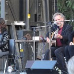 Red Horse: Lucy Kaplansky, John Gorka, Eliza Gilkyson, mainstage performance, Vancouver Island Musicfest 2011